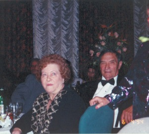 Nonna and Nonno at my uncle's wedding (1994)