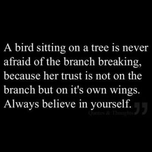 Believe in Wings Quote - Pinterest
