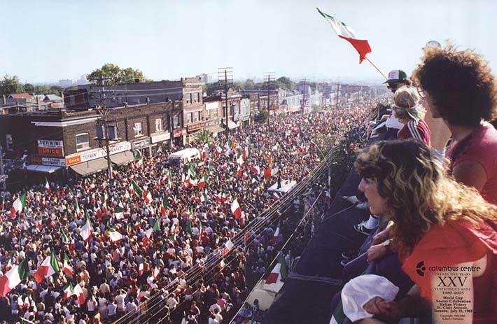 St. Clair Avenue, July 11, 1982. This picture still hangs in my parents house.