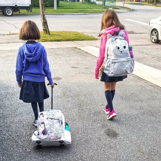First day of school (Sept 2017)