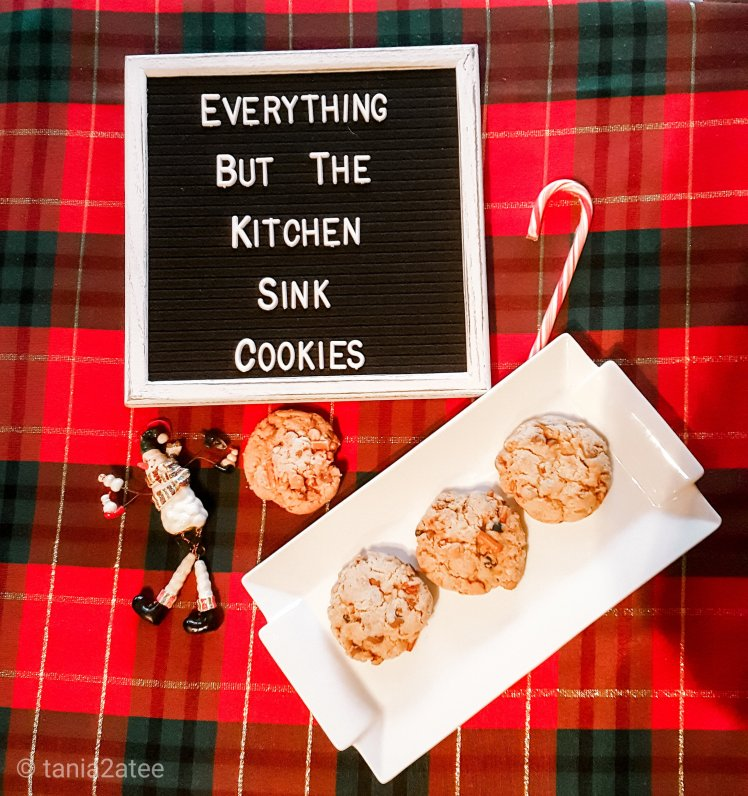 Everything but the kitchen sink cookies: tania2atee